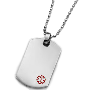 Necklace with DogTag